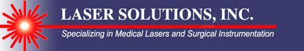Laser Solutions Parts and Service for Surgical Lasers